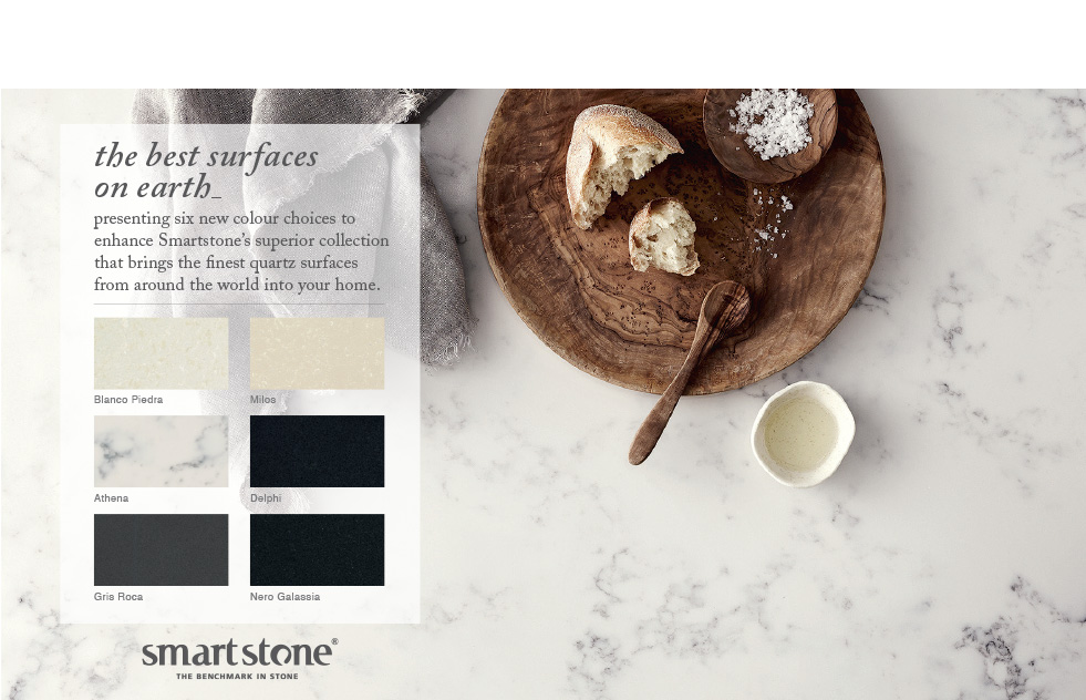 Smartstone Athena Quartz Surfaces Benchtops