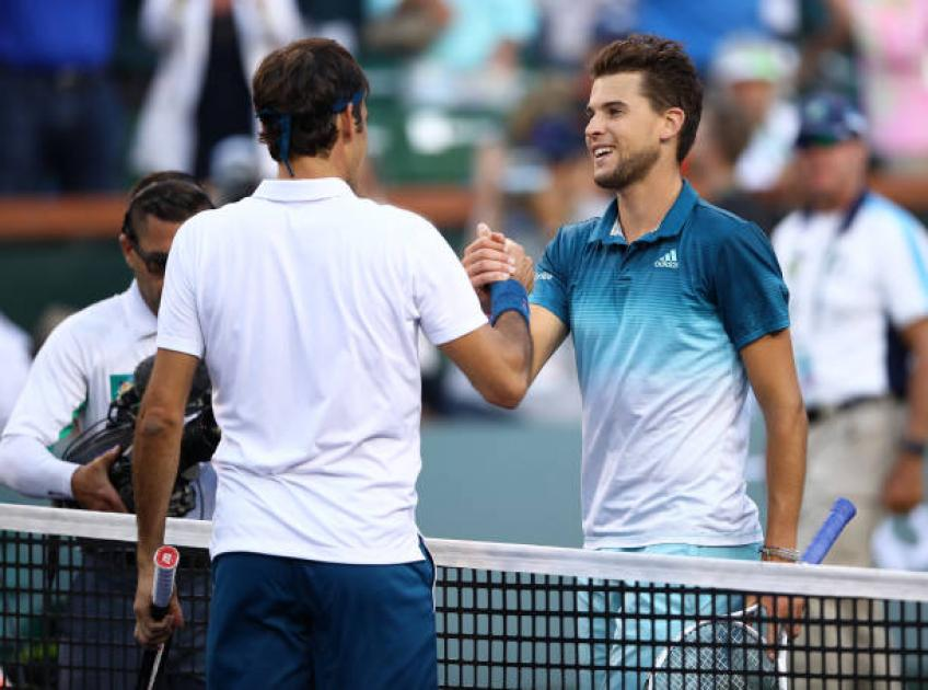 Dominic Thiem Is Very Close To Roger Federer Nadal And Djokovic Agent