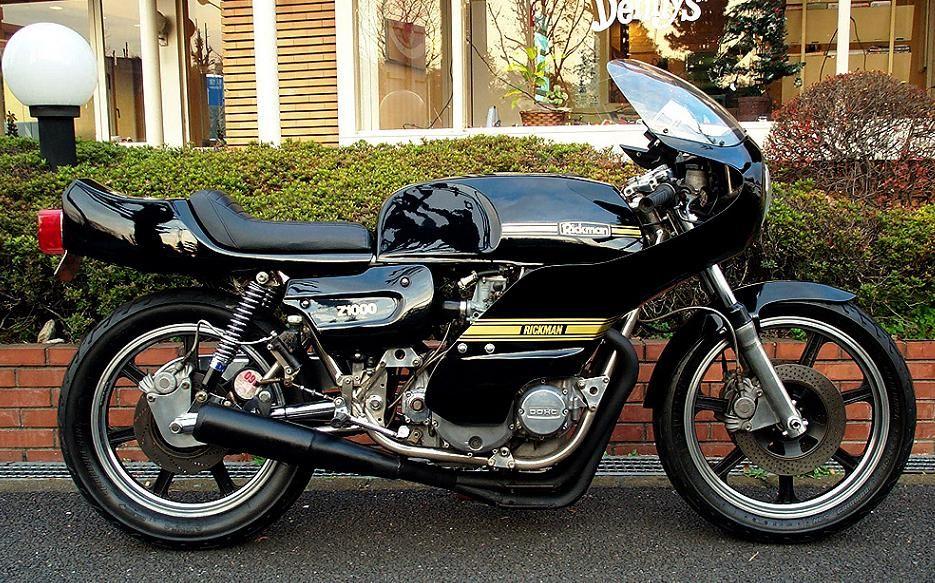 B N J T L カワサキ リックマン バイク