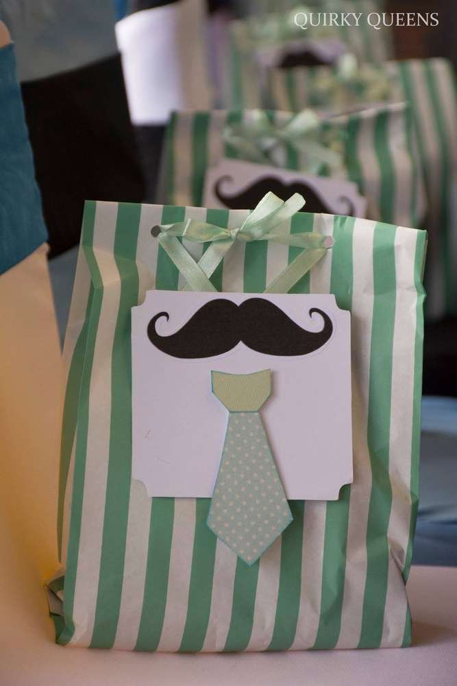 Little man mustache birthday party favors! See more party planning ideas at CatchMyParty.com!