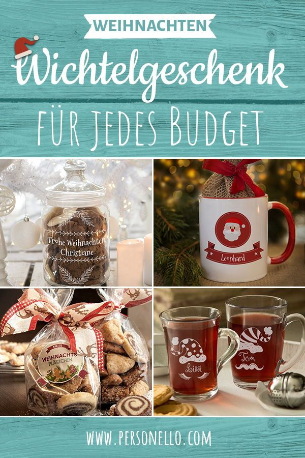 Wichtelgeschenke | Kleine & witzige Ideen zu Weihnachten #kleineweihnachtsgeschenkekollegen