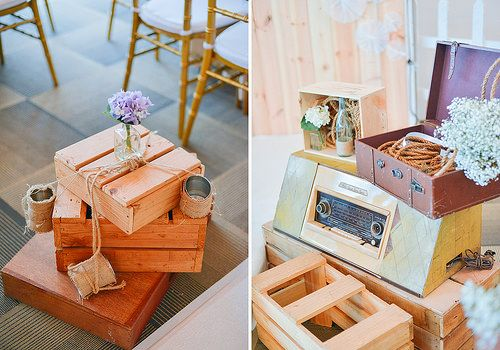 Loving the wooden crates