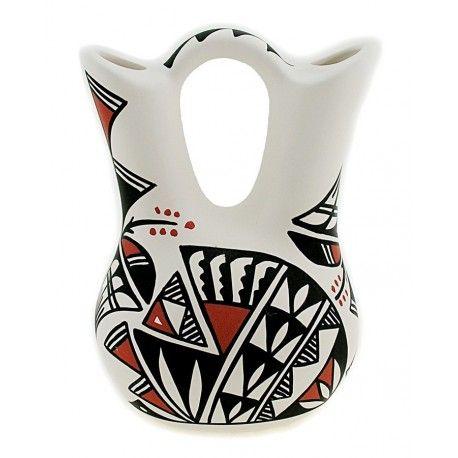 Native American Acoma Pueblo Wedding Vase By Deidra Dee Antonio