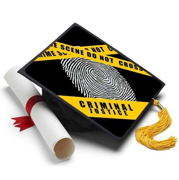 Criminal Justice Cap Decoration
