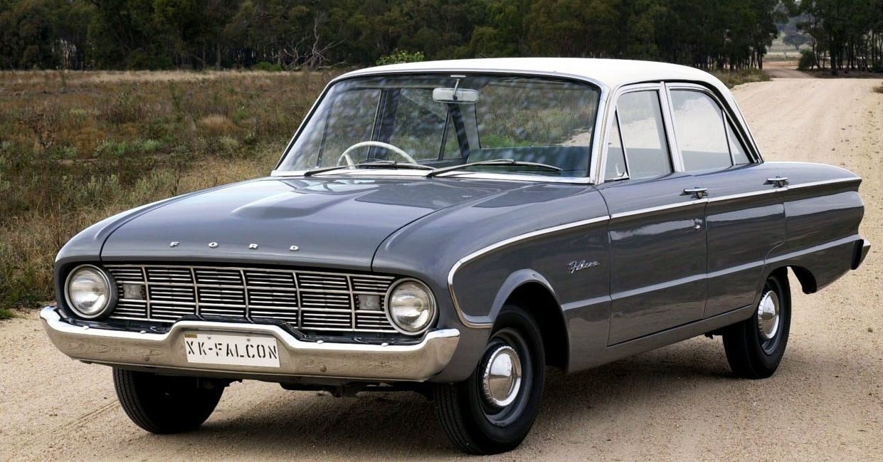 1960 ford falcon ~ my first car. it was such a good little car