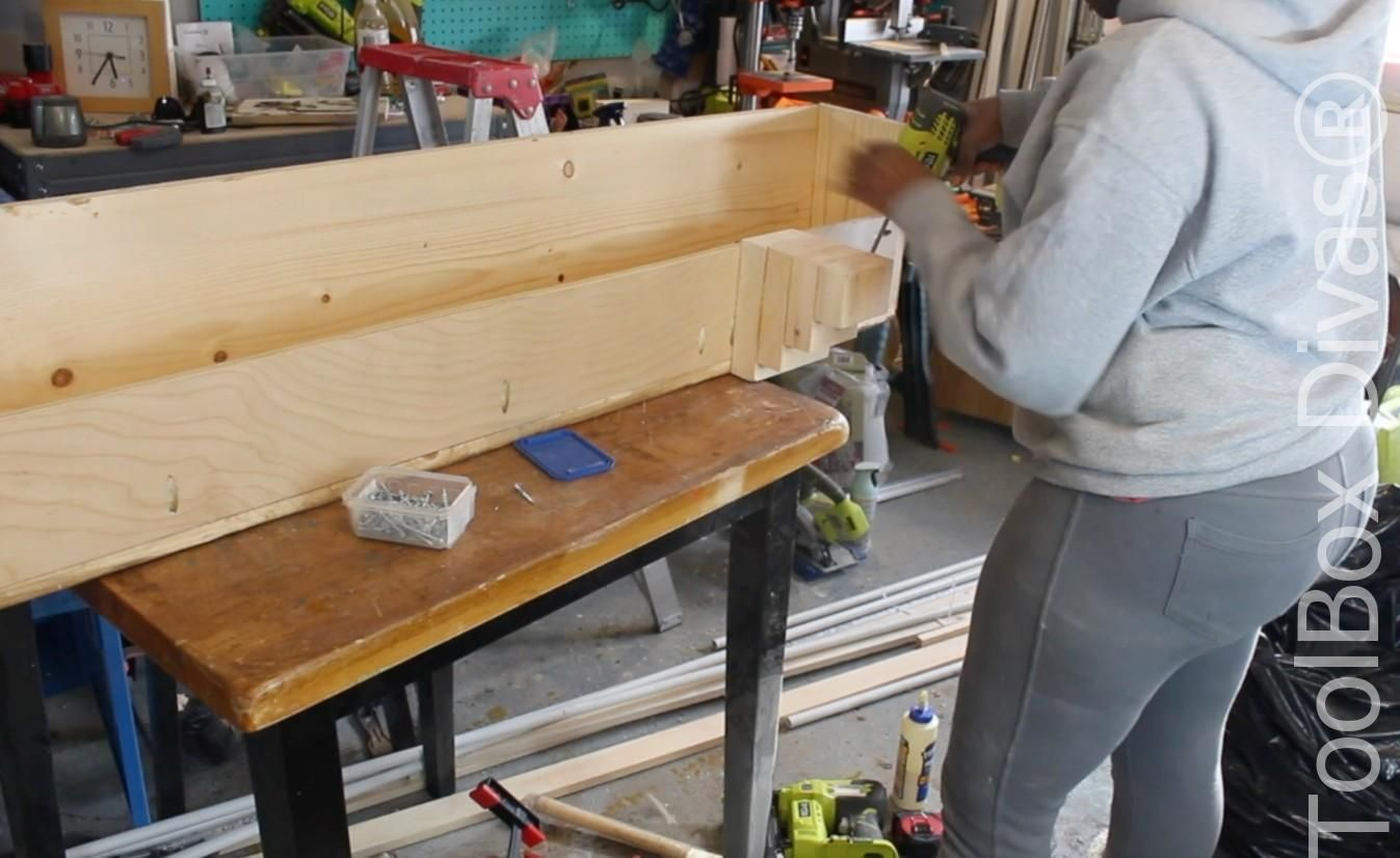 How to build a rustic faux beam mantel faux beams faux