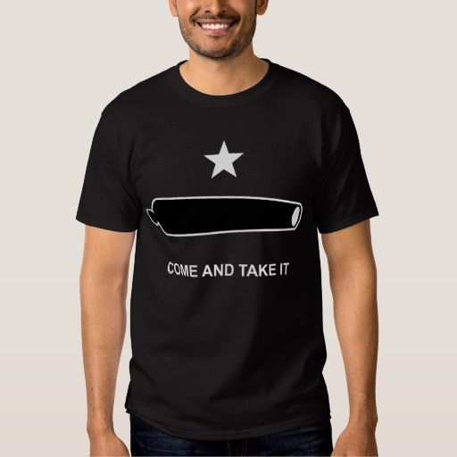 Come and Take It - Culpepper Flag - T-shirt #ComeAndTakeIt #Culpepper #CulpepperFlag #2A #NRA #SecondAmendment #9thCircuit #NinthCircuit #GunRights #GunControl #Freedom #Independence #Unalienable #UnalienableRights #BillOfRights #ActivistJudges #CriminalLiberalMedia #ConcealedCarry #CC #OpenCarry #770KTTH #TheTruth #Truth