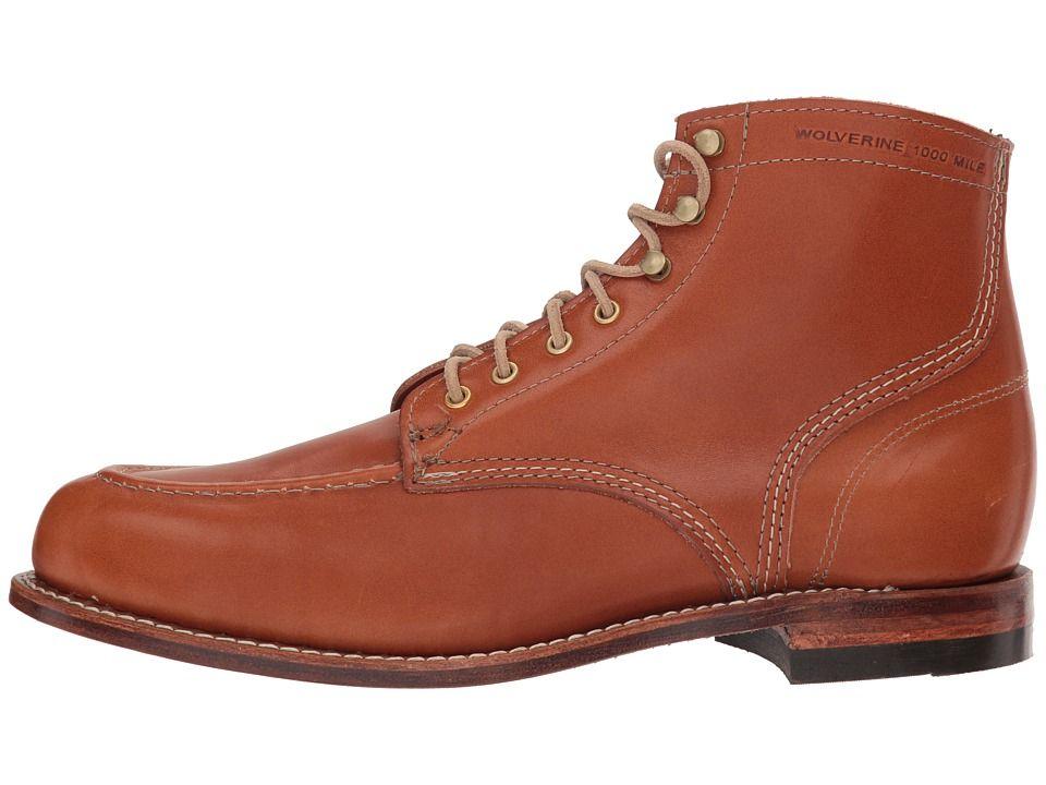 85ec4d16b06 Wolverine Heritage 1000 Mile 1940 Boot Men's Lace-up Boots Tan ...