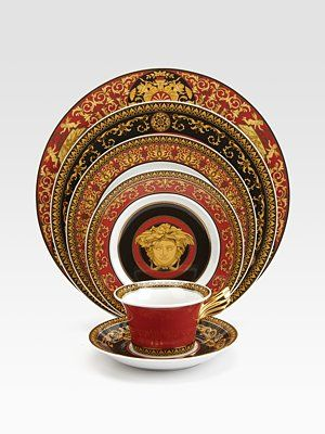 I Don T Really Care About Versace Or The Medusa Head Or Any Particular Brand My Daughter Reveres Him Speaks Of Him I Fine Dinnerware Plates Versace Home