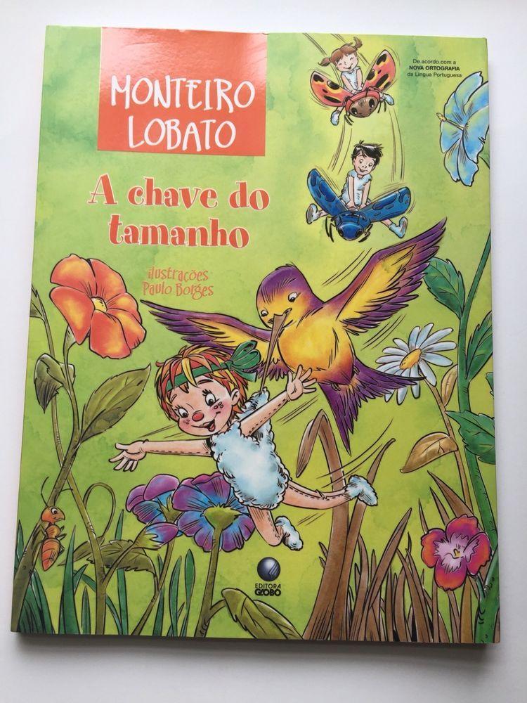 e3571fdd8 Details about A Chave do Tamanho Monteiro Lobato Paperback Brazil ...
