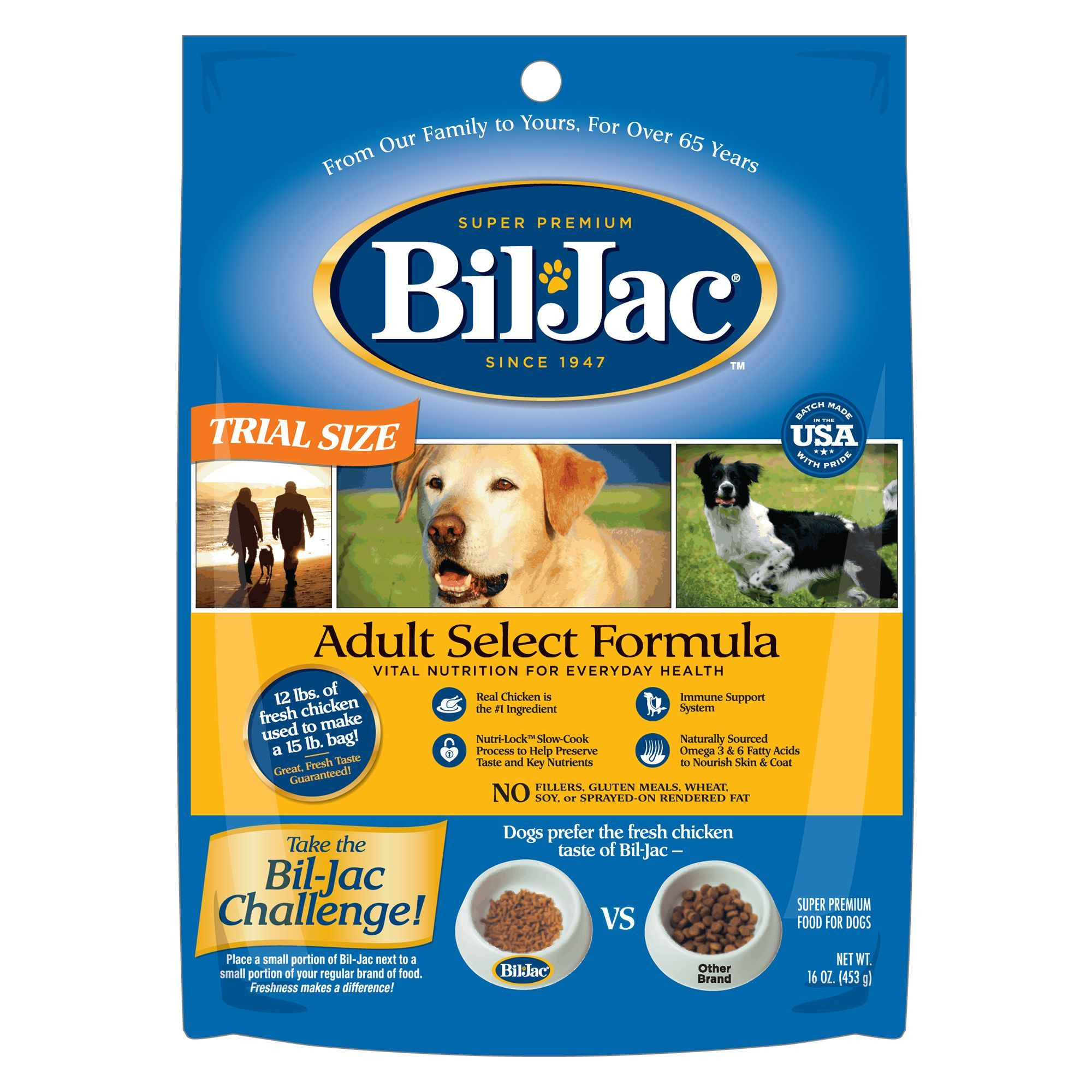 Bil Jac Select Adult Dog Food Chicken Dog Food Recipes Dog