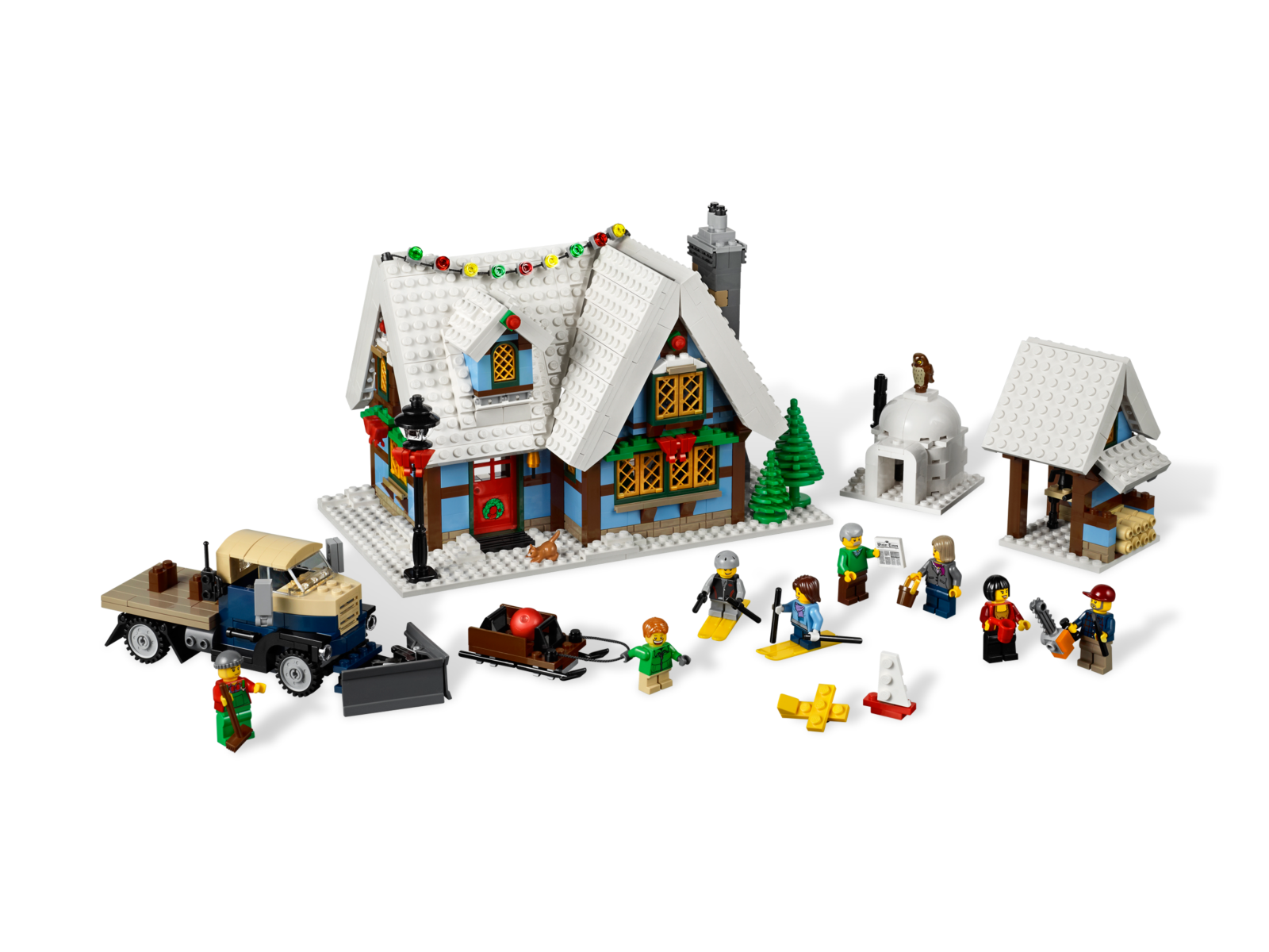 Winter Village Cottage 10229 Hard to Find Items Buy
