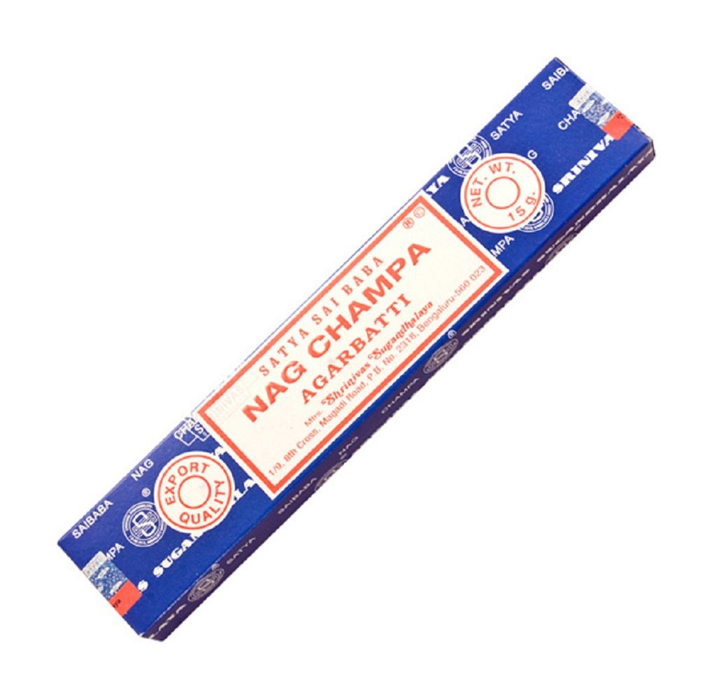 Incense Sticks 15 g. Nag Champa. $ 3.50 http://www.shopuniquegifts.ca/collections/gifts-for-yoga-lovers/products/satya-incense-sticks-nag-champa  #incience #nag #champa