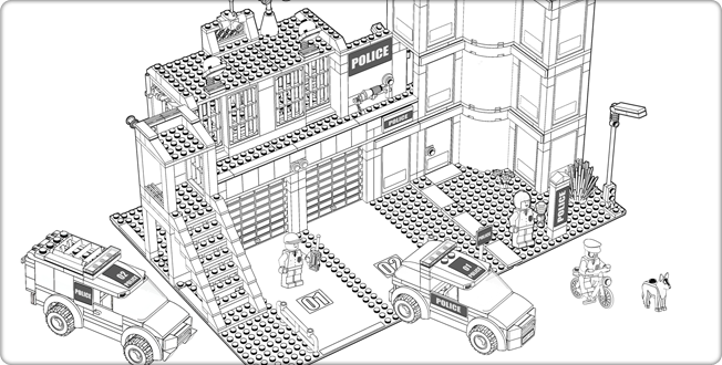 coloriage lego chima 06png - Coloriage Lego