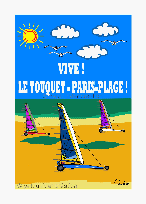 Chars A Voile Du Touquet Touquet Paris Plage Char A Voile Paris Plage