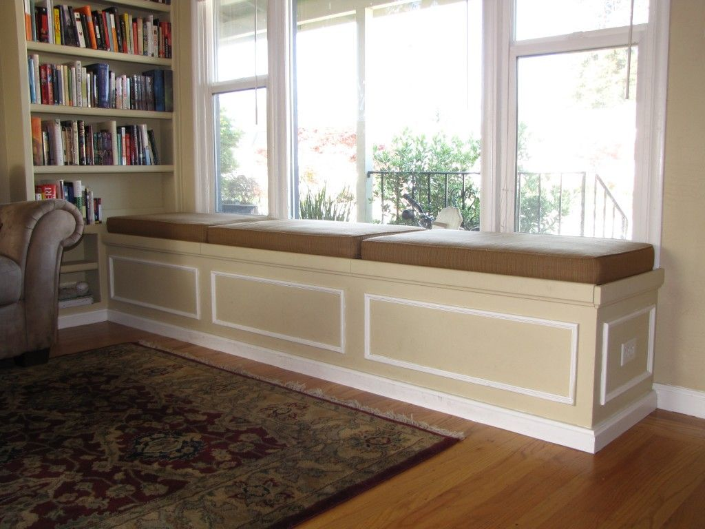 Built In Bench Corner Bench Storage Seating Built In Bookshelf And Bench Seat