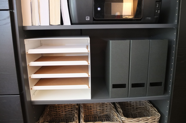 Kvissle Letter Tray White Ikea In 2020 Ikea Home Tour Homeschool Decor Craft Room Office