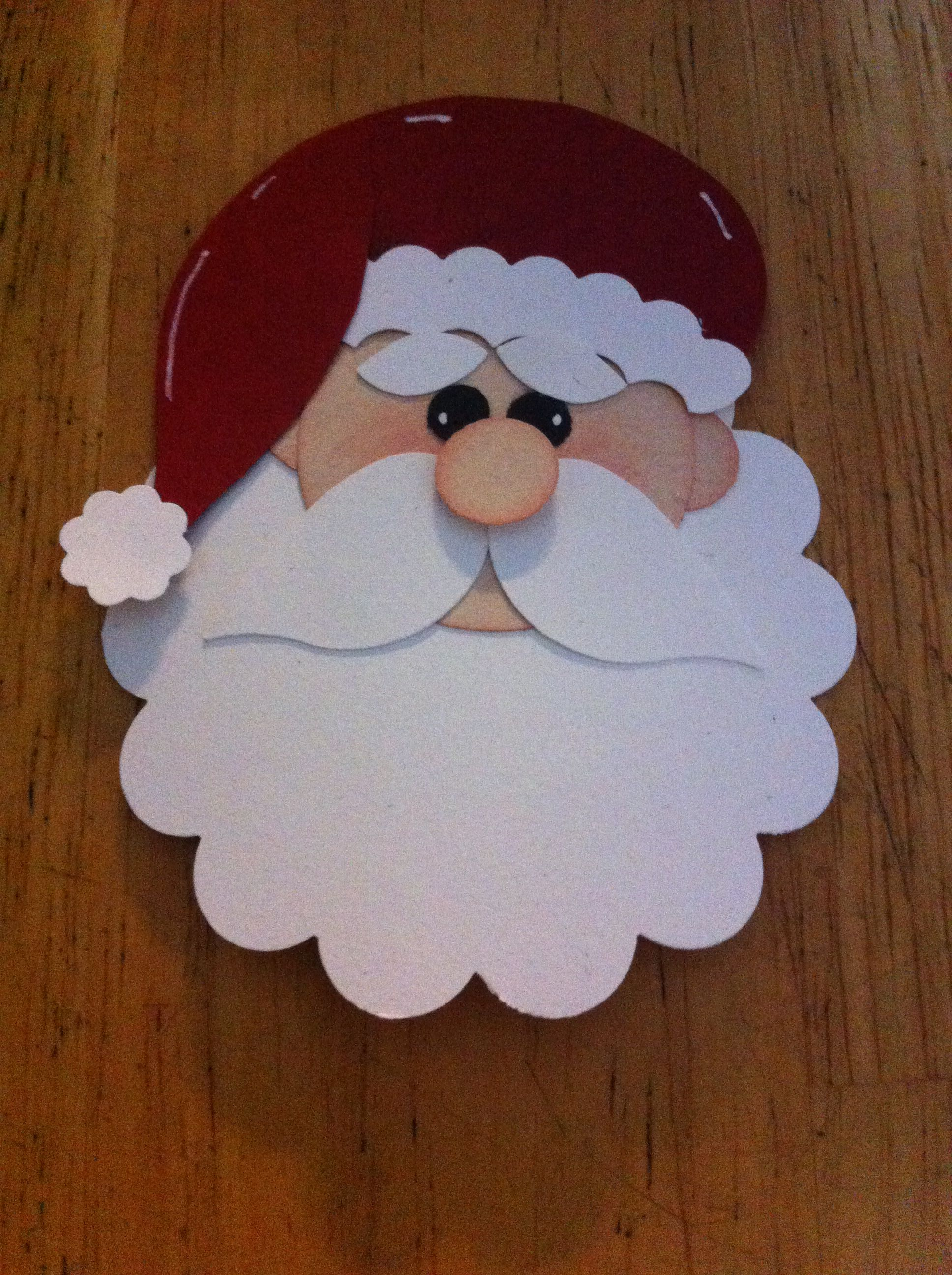 Punch Art Santa