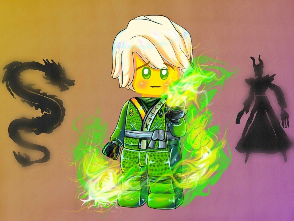 Master Lloyd Half Oni Half Dragon Ninjagosonsofgarmadon