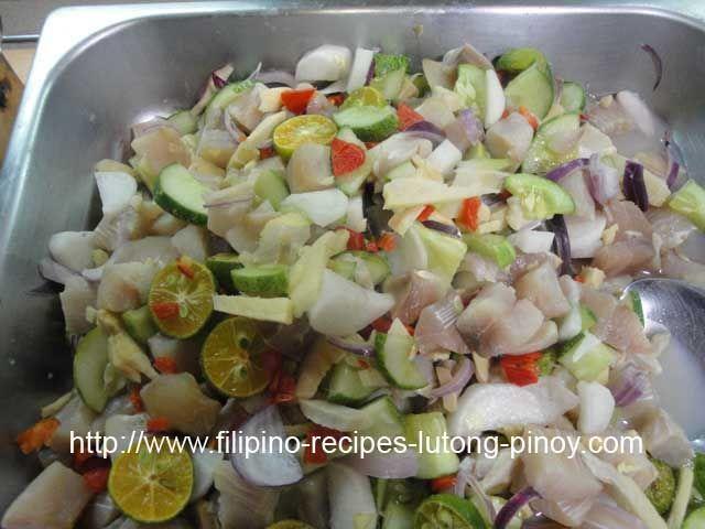 Kilawin Malasugue Blue Marlin Fish Recipes Healthy Delicious Salads Ceviche
