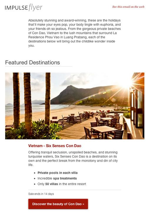 Impulse Flyer Email Design Inspiration Email Design Marketing Campaign Examples