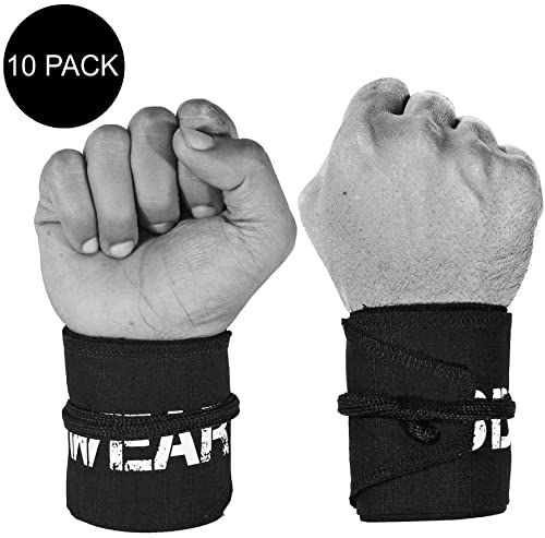 Photo of Buy WOD Wear Wrist Wraps  Powerlifting, Strength Training, Bodybuilding, Cross Training, Olympic Weightlifting, Yoga Support – One Size Fits All online – Tophitsgoods