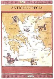 Resultado de imagem para grecia antiga mapa