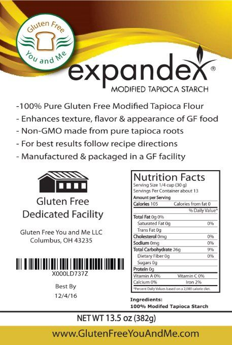 Expandex Modified Tapioca Starch Gluten Free Bagels Gluten Free Gourmet Recipes