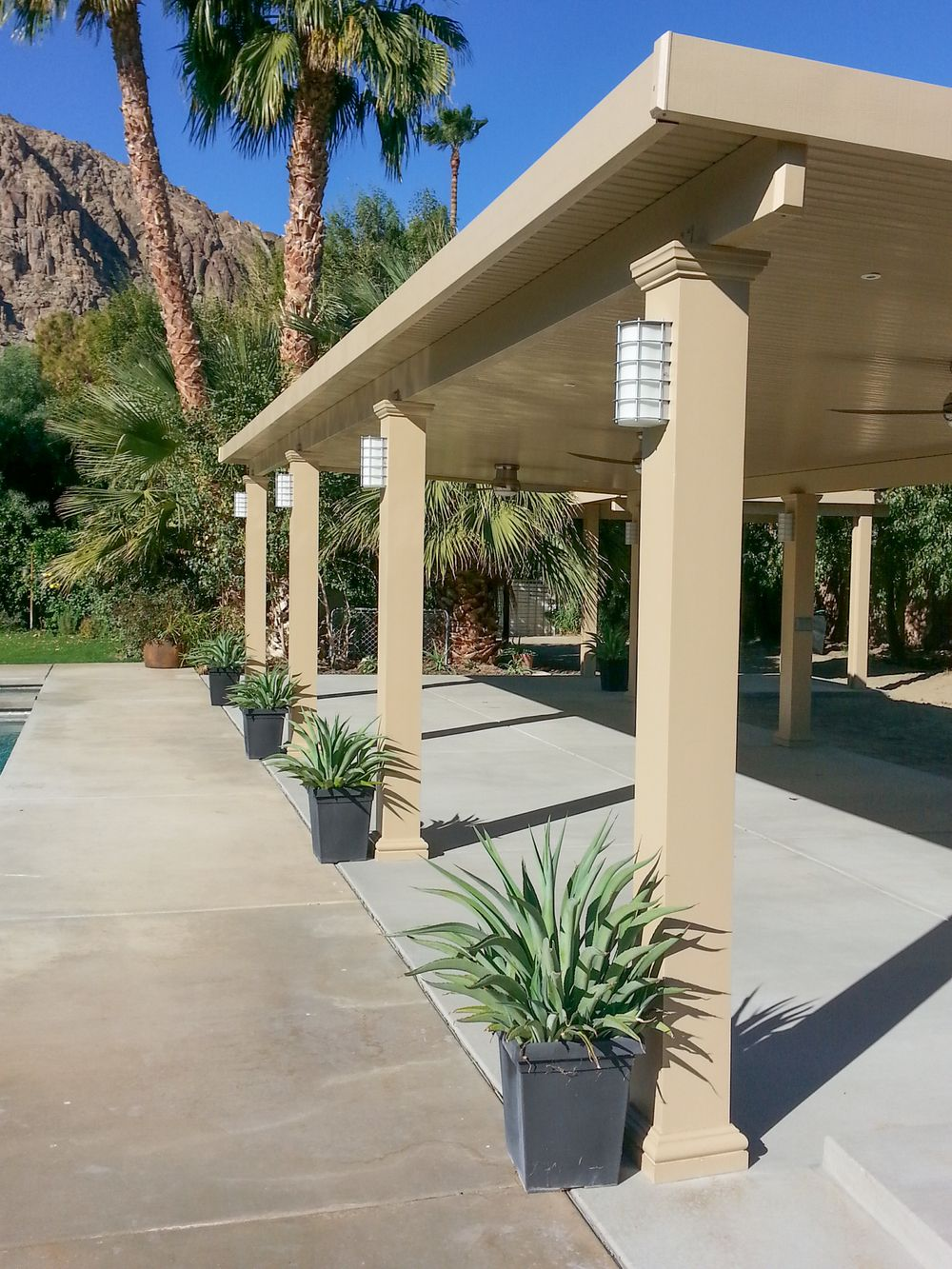 Image Result For Alumawood With Columns Covered Patio