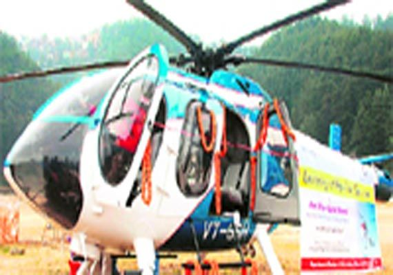 Helipads to be built near Shimla, Dharamsala, Manali for heli-taxi service