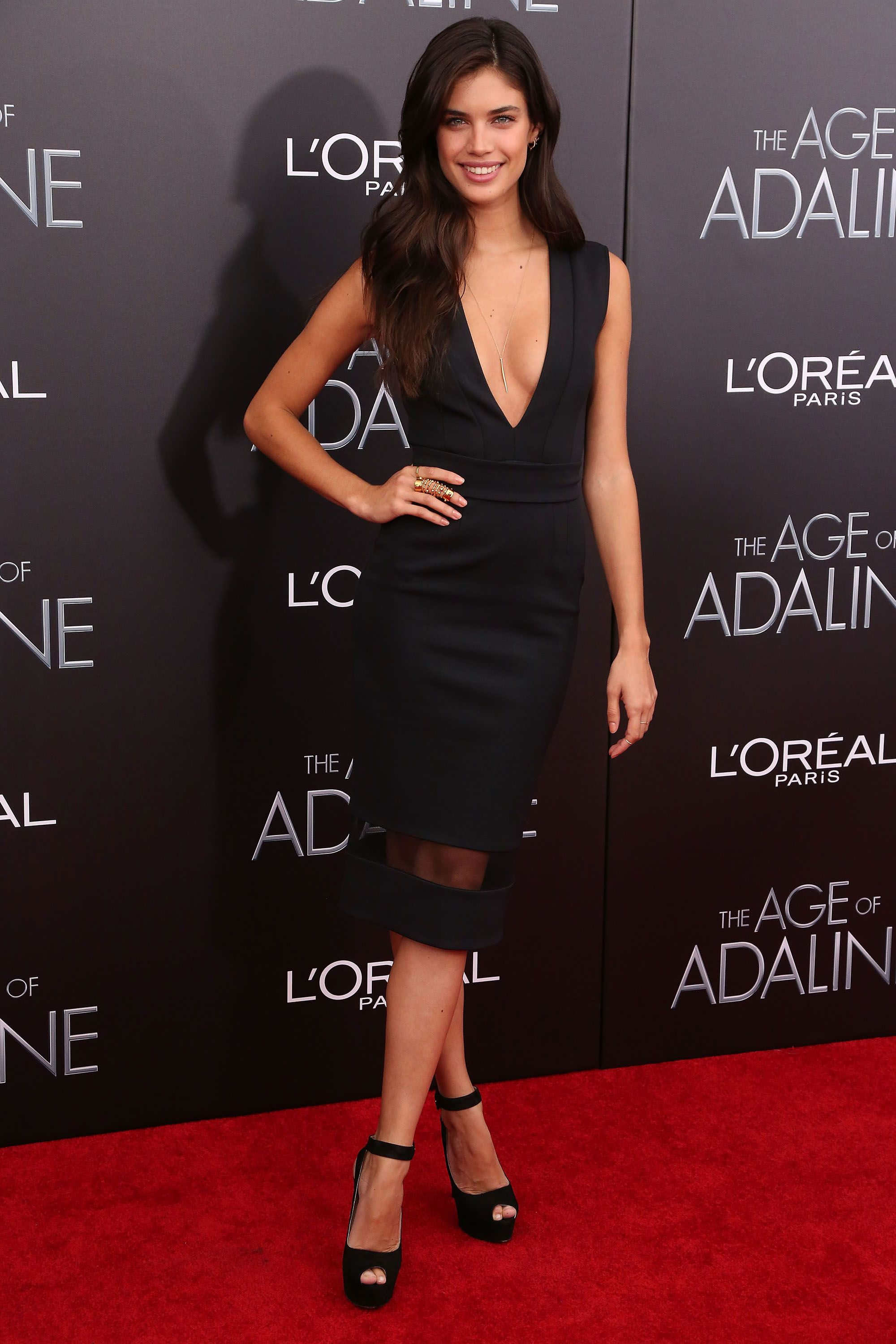 The best little black dresses of sara sampaio red carpet and