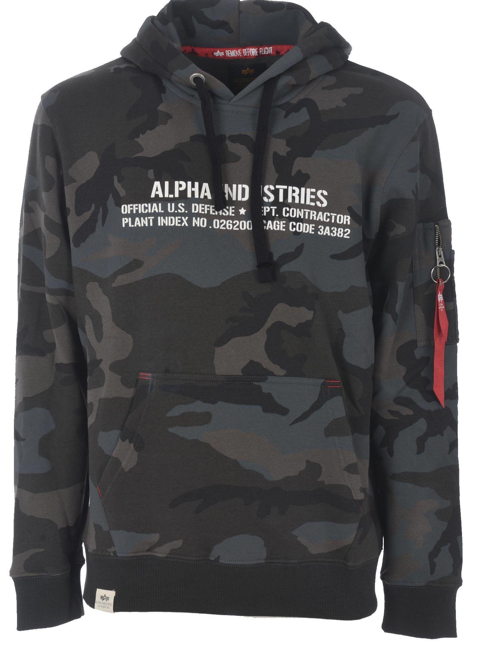 e4d005242 ALPHA INDUSTRIES CAMO HOODIE. #alphaindustries #cloth | Alpha ...
