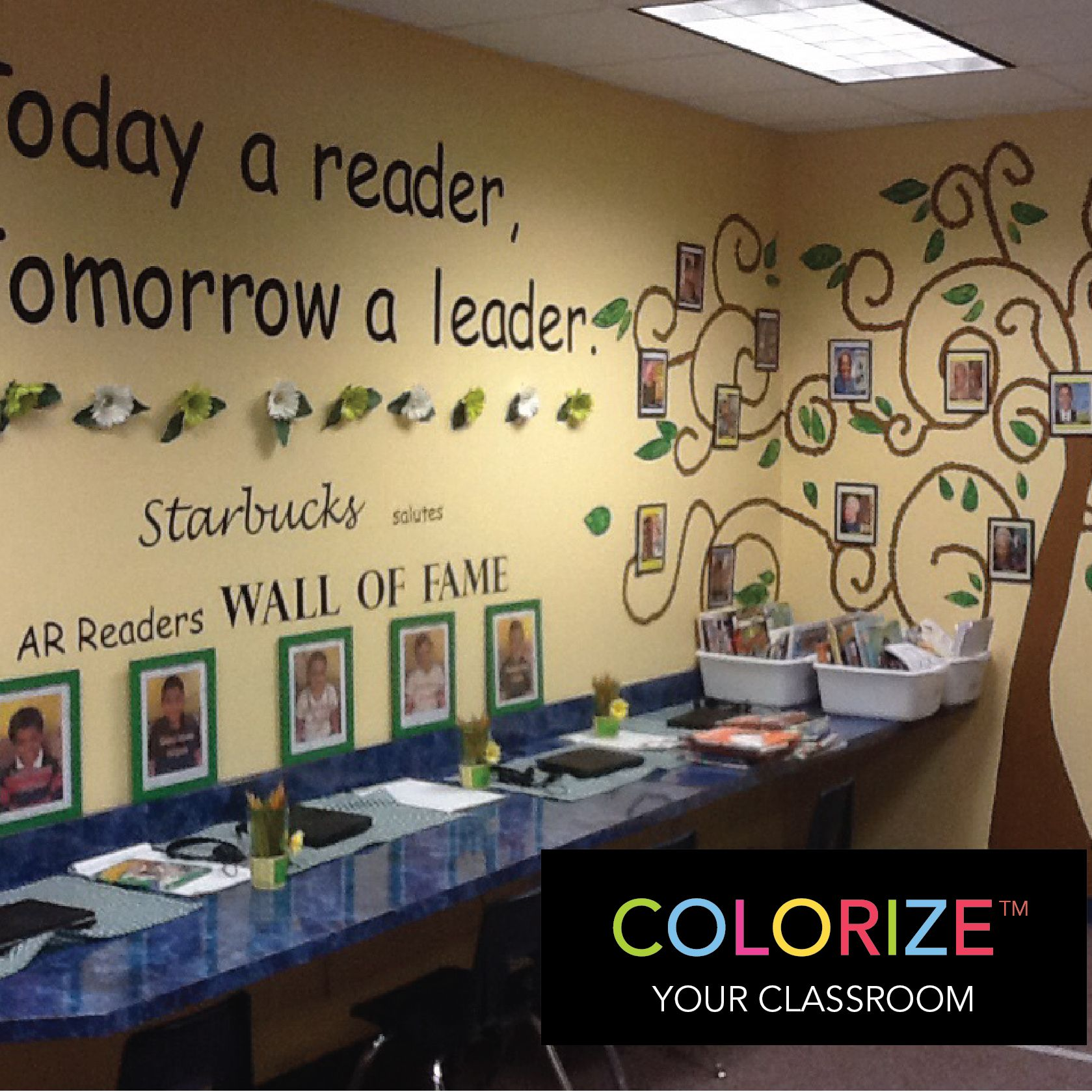 This week's Astrobrights Teacher Spotlight is, Karen Lee, who teaches 2nd Grade at Oak Park Elementary in Louisiana. Thanks, Karen, for sharing how you #ColorizeYourClassroom with this colorful Reading Wall of Fame! Don't forget to enter to WIN your own Astrobrights Papers at www.colorizeyourclassroom.com