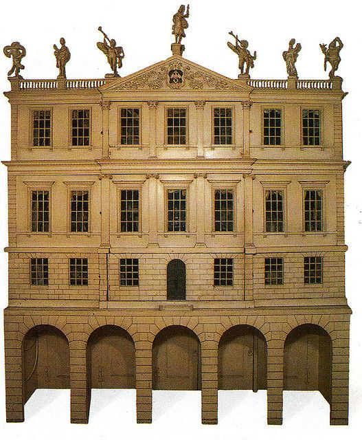Uppark Palladian Mansion Doll House - circa 1733, National Trust