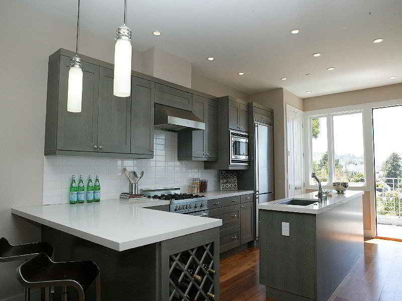 Tips for Choosing the Right Gray Kitchen Cabinets ~ Listed ...