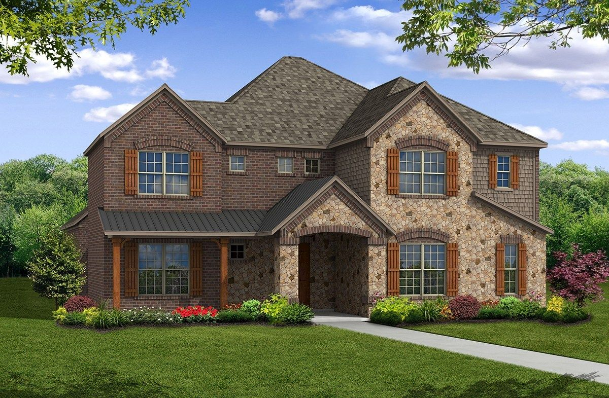 Westfield Home Plan in Stoney Creek Sunnyvale TX