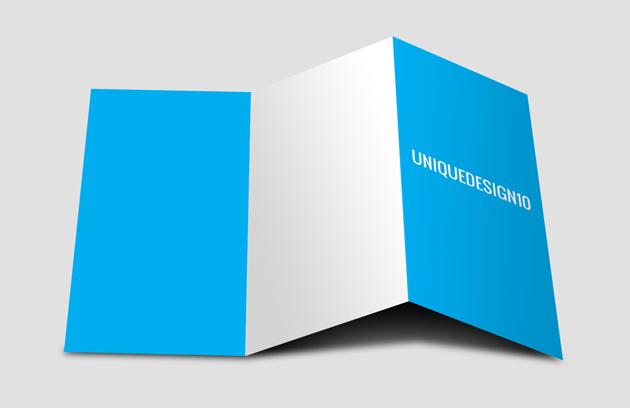 Free Tri fold Brochure Mockup PSD | Creative Tools | Pinterest ...