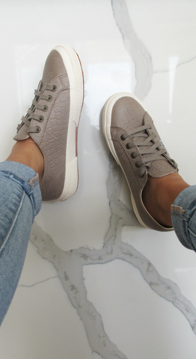 be30a721d592b Super cute, comfy, and stylish Superga fall sneakers! | • Sole•Mates ...