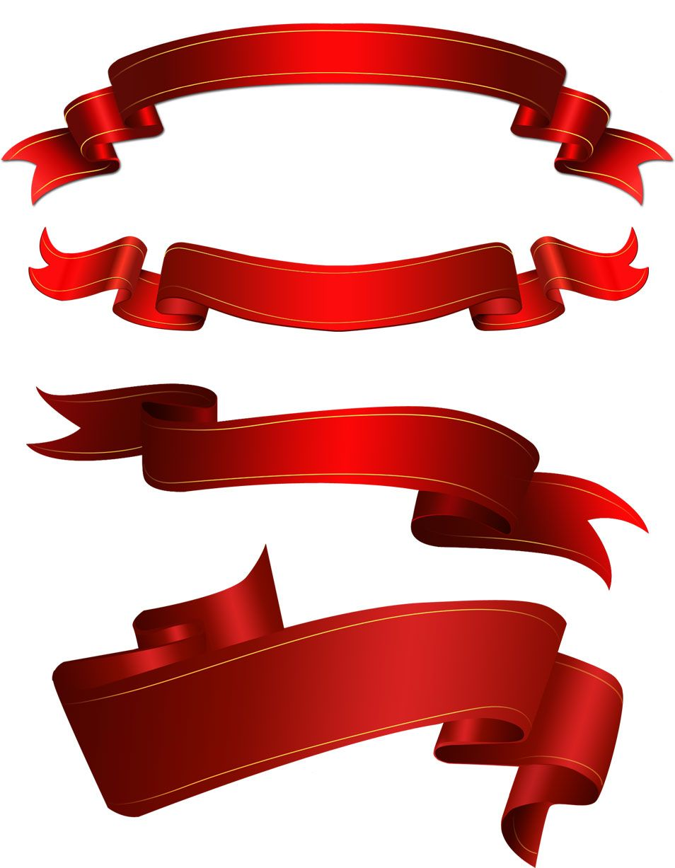 free psd red ribbons check more at https www bazaardesigns com rh pinterest com ribbon banner vector psd ribbon banner vector black and white