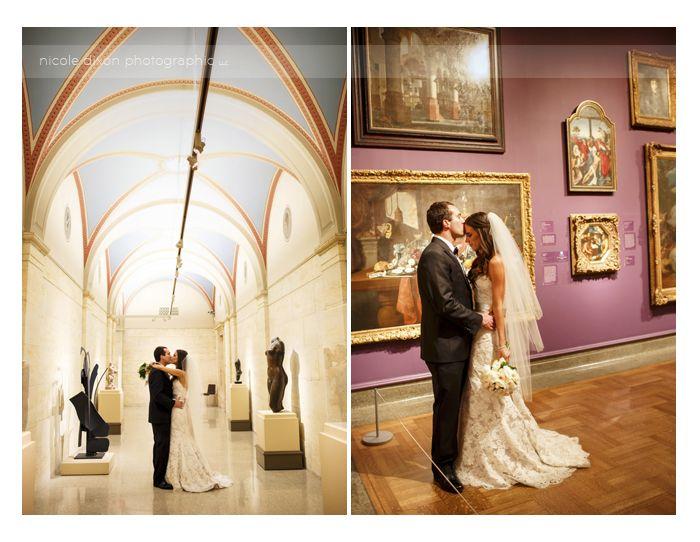 Nicole Dixon Photographic Columbus Ohio Wedding Photographer Museum Of Art