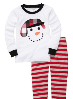 super cute snowman pjs for kids photos of christmas pajamas at kohls walmart and amazoncom - Walmart Christmas Pajamas