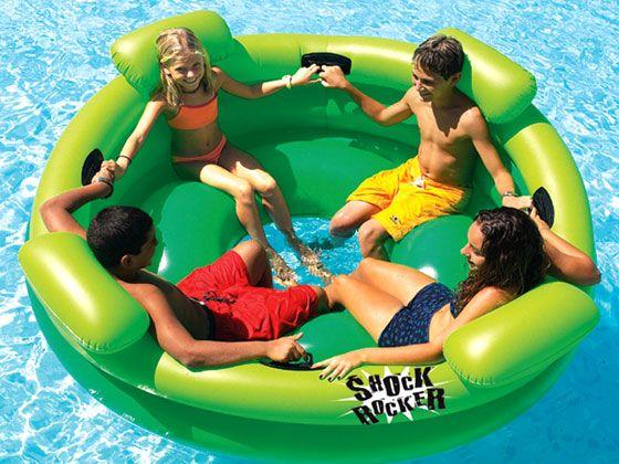 1 Jouet gonflable-piscine-Jeux-Jouet d/'eau-été-flottant-blow up-party-bâteau