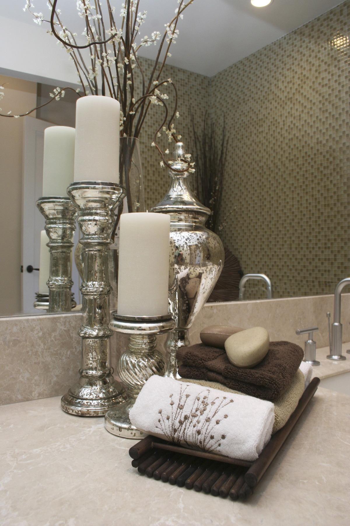 Vanity decor | Unique bathroom decor, Restroom decor ...
