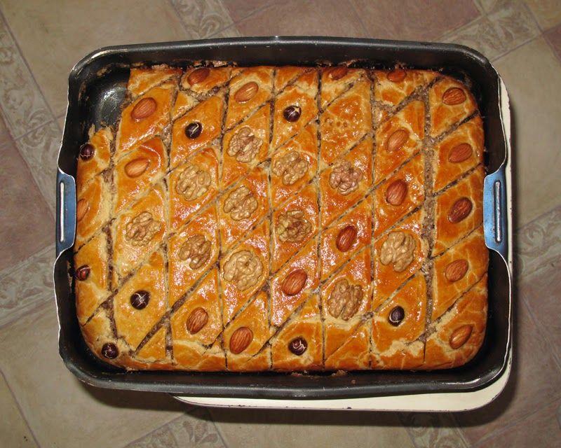 пахлава пошаговый рецепт с фото
