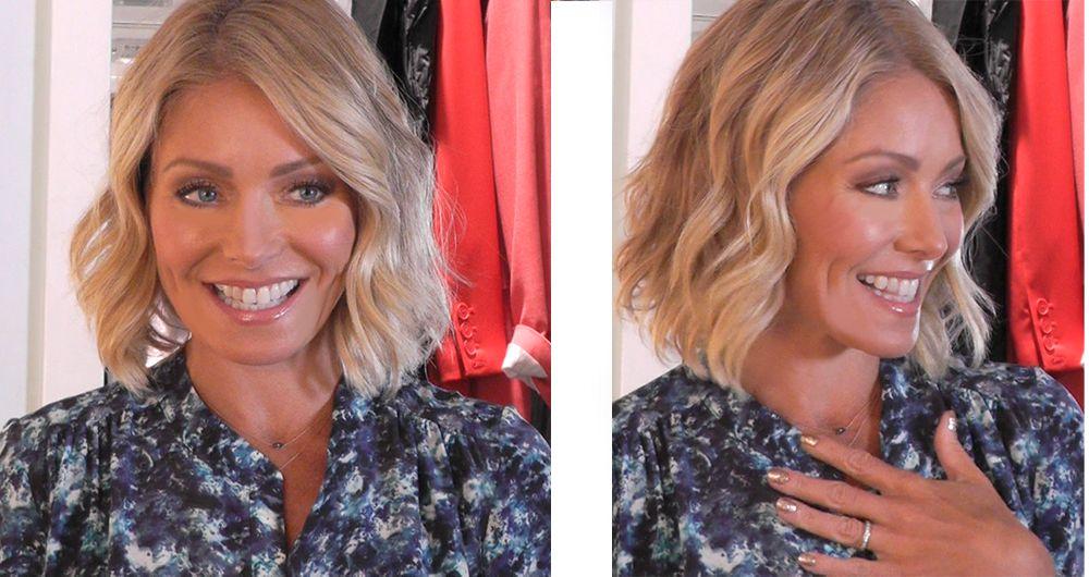 Kelly Ripa Short Hair Kelly Ripa Short Wavy Hair Short Blonde Wavy Hair Short Blond Wavy Hair Short Wavy Hair Wavy Bob Hairstyles Medium Hair Styles