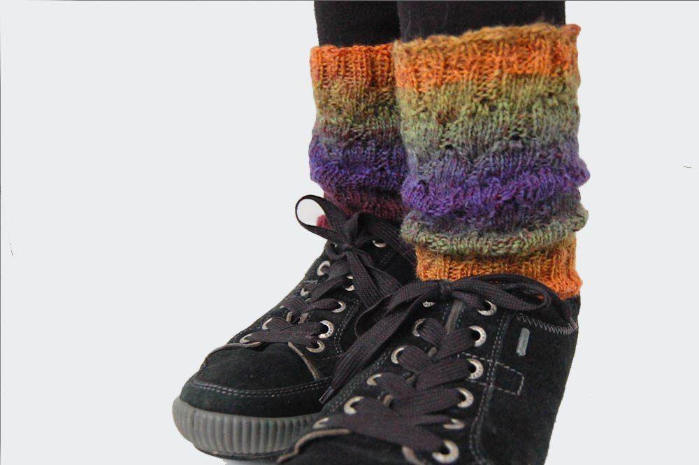 Anleitung Stiefelstulpen Stricken Stricken Crochet Und Handmade