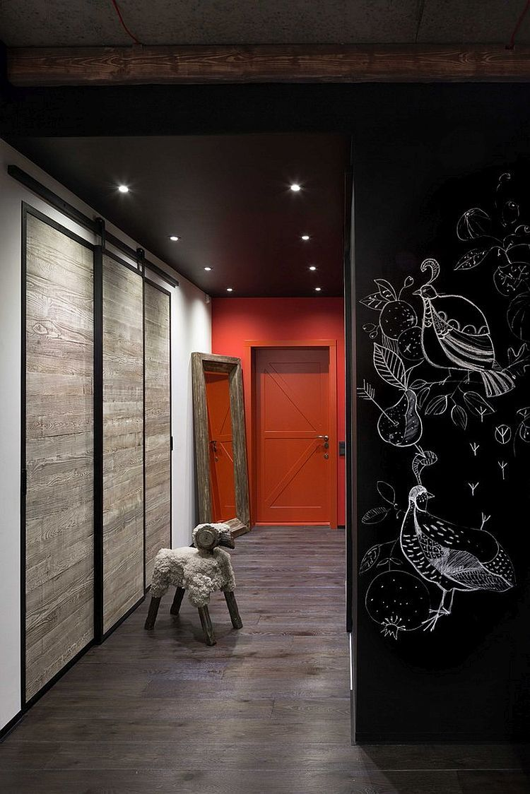 Highend bachelor pad design stunning loft in kiev by