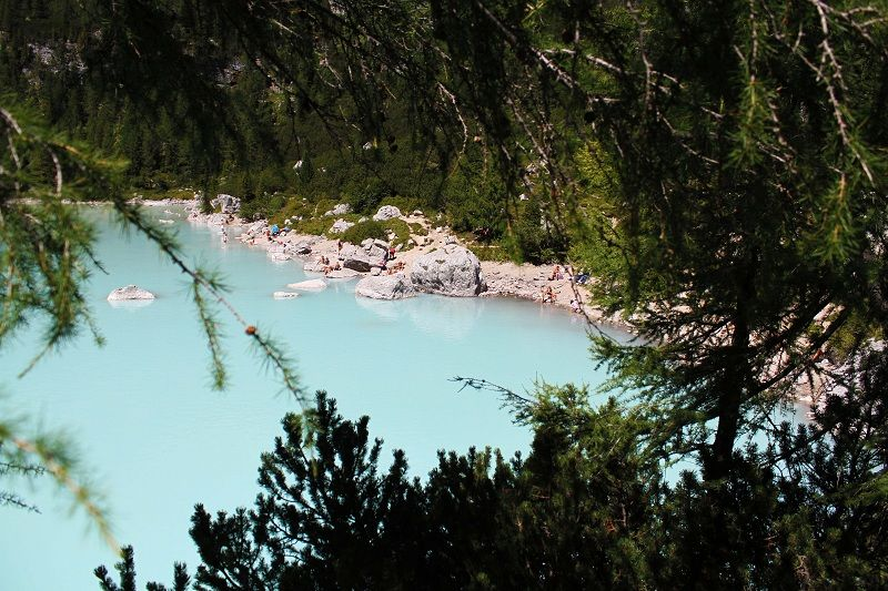 #lago di sorapis #rifugio vandelli #sentiero #suditirol #lago di misurina auronzo #lake #montagna #mountain