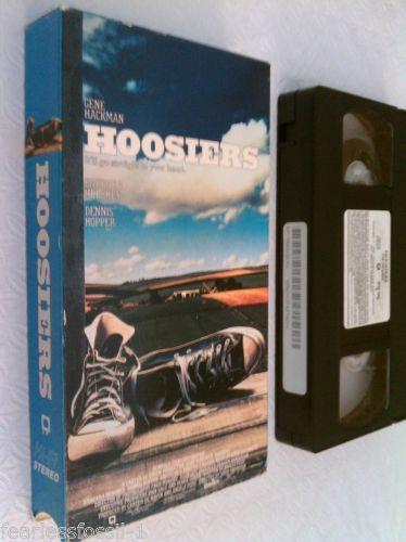 Hoosiers VHS