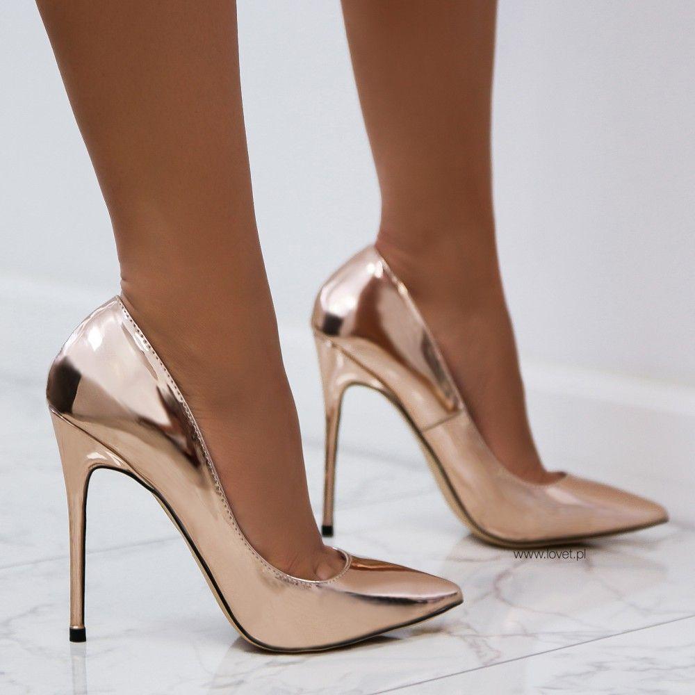 Https Lovet Pl Szpilki 5662 Szpilki Lustrzane Rozowe Zloto Joelle Html Heels Shoes Heels Prom Classic Girls Shoes